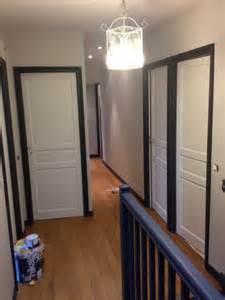 peinture portes couloir