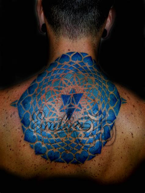 color mandala tattoo tattoos by emilia balinese miami
