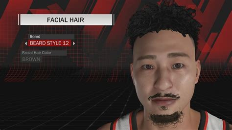 hairstyles nba 2k18 nba 2k18 all hairstyles and facial hair in the game