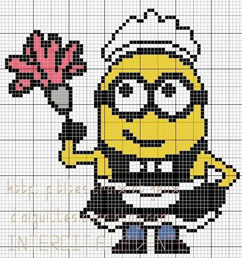 minion bead pattern 207 best images about px infantil on punto