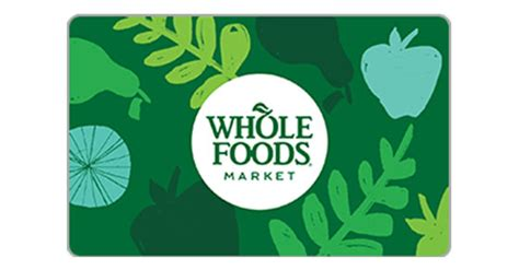 Whole Food Gift Cards - whole foods egift cards from egifter
