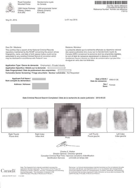 Canadian Criminal Record Check Report What Shows Up In A Criminal Background Check Canada Background Ideas