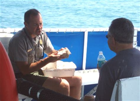 glass bottom boat biscayne national park our national parks 187 boat tour shows off bay s coral reefs