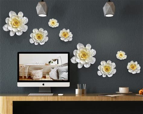 ceramic wall decorations buy wholesale ceramic flower wall decor from china