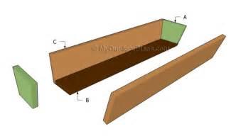 window planter boxes plans window box plans myoutdoorplans free woodworking plans