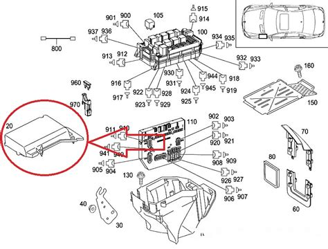 2007 mercedes s550 fuse box diagram
