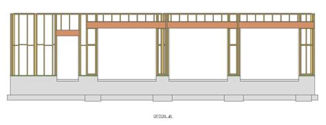 Garage Door Header Framing Garage Door Header Calculator Wageuzi