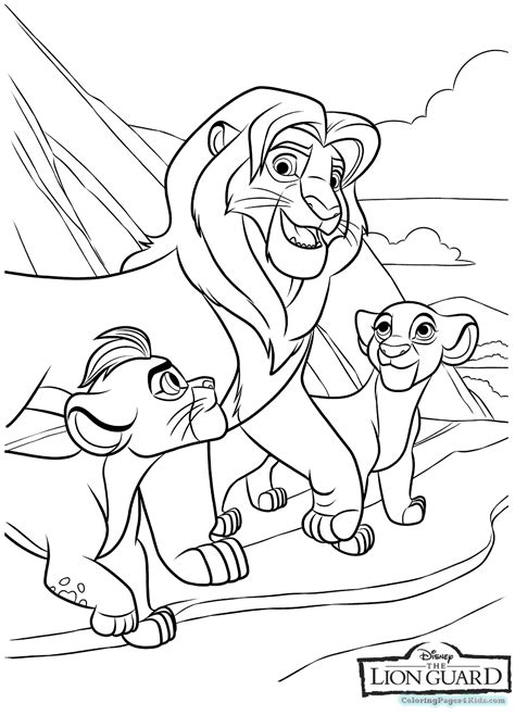 coloring pages lion guard the lion guard coloring pages coloring pages for kids