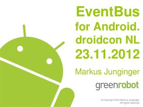 eventbus design eventbus for android