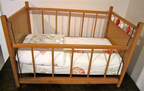 Wooden Baby Doll Cribs Doll Crib Unique Drop Side Wooden Vintage Retro Antique