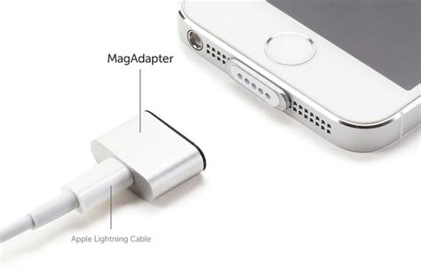 Magnetic Iphone Charger Lightning Magnetic Cable Iphone Magnetic Phone gigaom this kickstarter promises a magnetic charger for the iphone