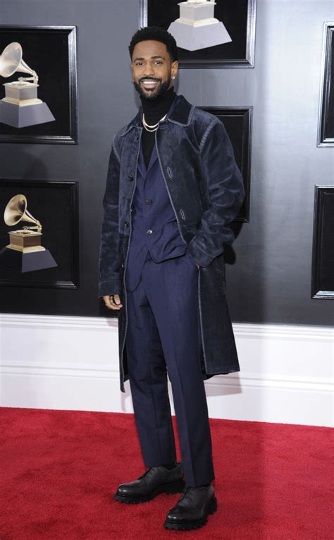 big sean grammy big sean the chainsmokers spotted on grammy awards red carpet