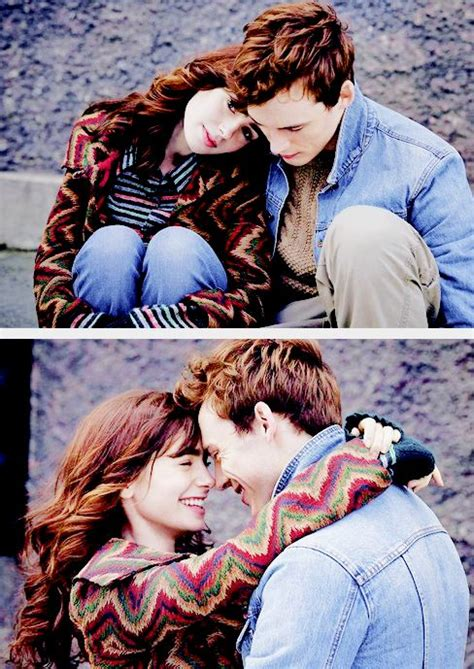 rekomendasi film love rosie lily collins sam claflin love rosie promo shoot
