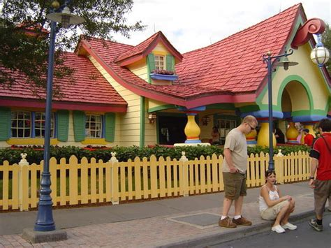 mickey mouse house mickey mouse s house photo