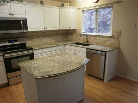 Kitchen Granite Backsplash Countertops And Backsplashes Santa Cecilia Granite Countertops And Travertine Onyx