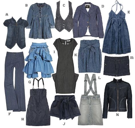 Clothes My Back 2202008 by Fashion Update Denim Denim And Denim Gsingy S