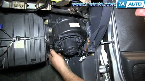 2000 nissan maxima radiator fan not working how to install replace ac heater blower fan motor 2000 04