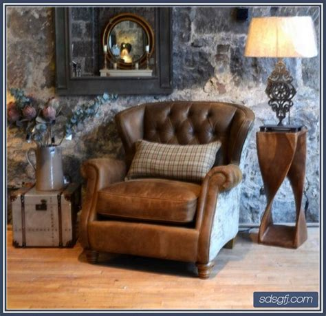 leather and fabric mix chairs home furniture http