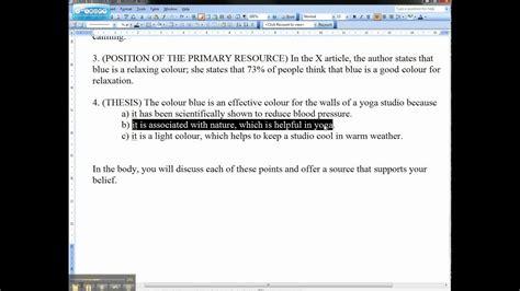 essay introduction  thesis statementavi