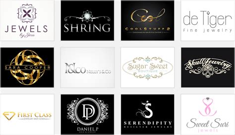 design jewelry logo beauty in simplicity 4 elegant jewelry shop logos