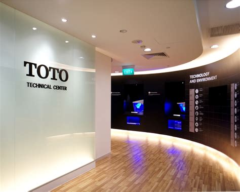 Home Design Drawing Toto Technical Center Projects Nomura Design And