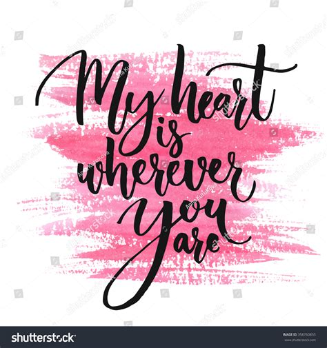My Is You by My Wherever You Are Stock Vector 358760855
