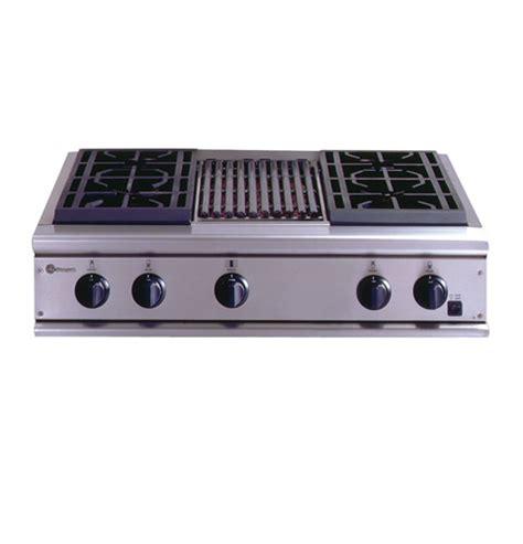 ge monogram cooktop 36 gas zgu36n4ryss ge monogram 174 36 quot professional gas cooktop