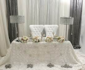 Ceremony designs floral designs head table amp backdrop designs rentals