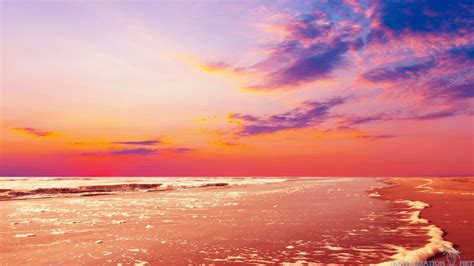 wallpapers beach colorful colorful beach sunset pictures to pin on pinterest pinsdaddy
