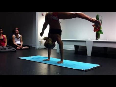 ashtanga yoga tutorial with kino ashtanga yoga demo with kino macgregor in vancouver