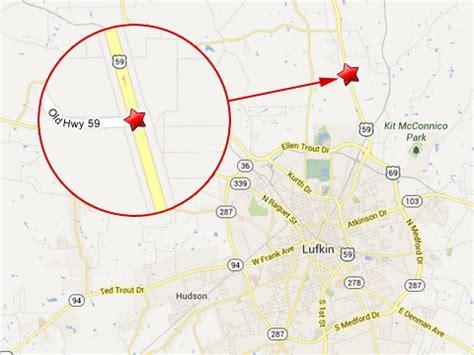 lufkin texas map two tractor trailers collide in a fiery semi truck in lufkin tx truck