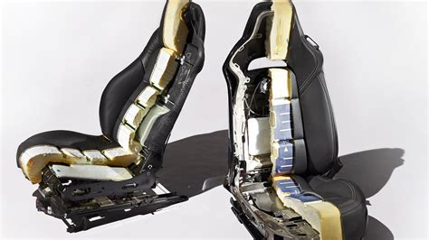 car seat structure corvette seats dissected c6 vs c7 car and driver