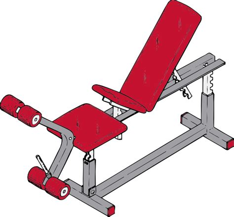 gym bench equipment exercise bench clip art at clker com vector clip art online royalty free public