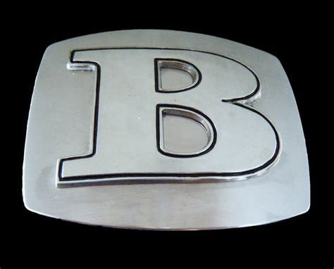 Name Letter B b initial letters names monogram unisex jewelry boy
