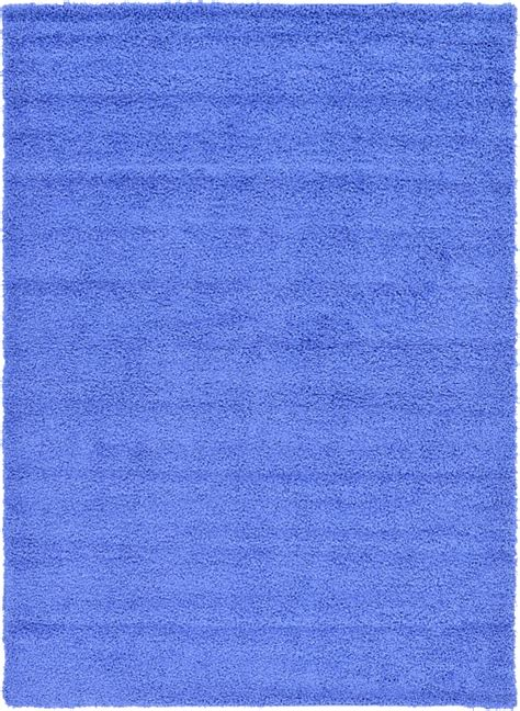 periwinkle rug periwinkle blue 245cm x 335cm solid shag rug area rugs au rugs