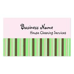 house cleaning business card exles house cleaning services zazzle
