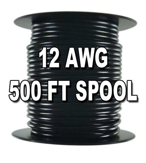1015 motor wire 12 awg 500 ft spool