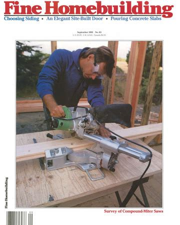 fine homebuilding issue 83 fine homebuilding