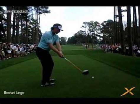 bernhard langer swing bernhard langer the masters practice round golf