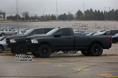 ram hellcat boostaddict supercharged ram hellcat spotted testing