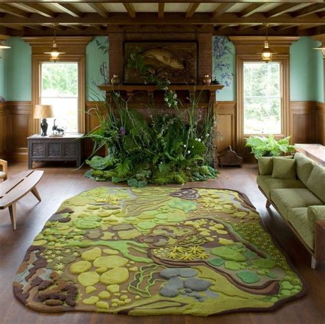 forest themed living room  angela adams