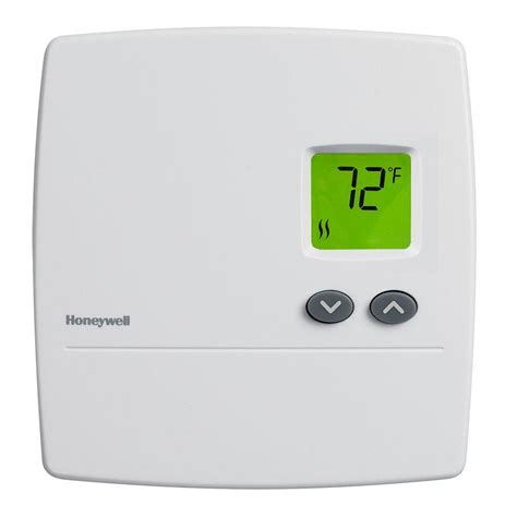 Honeywell Digital Non Programmable Baseboard Heat Thermostat RLV3100A   The Home Depot