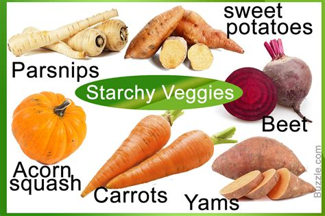 a vegetables list a list of starchy vegetables you ll certainly want to refer to