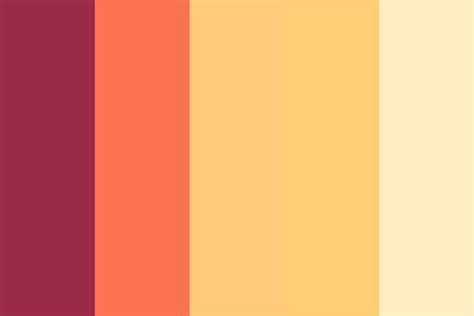 warm colors warm color palette