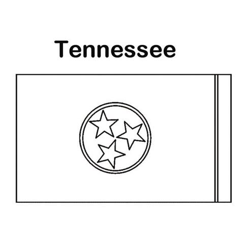 tennessee colors tn vols free coloring pages
