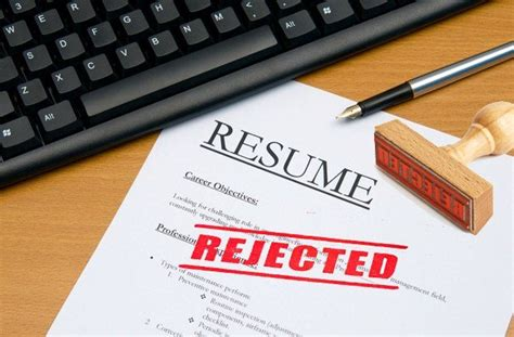 10 reasons why your cv is getting rejected youth