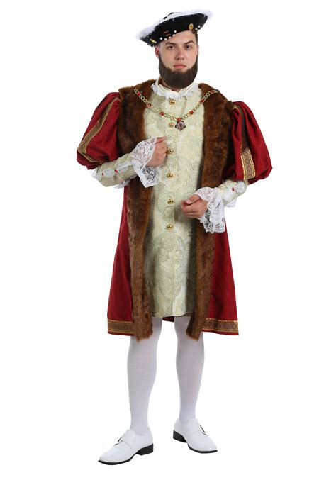 halloween costumes king henry costume for plus size men