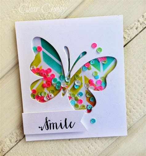 butterfly cards to make 17 best images about handmade shaker cards on