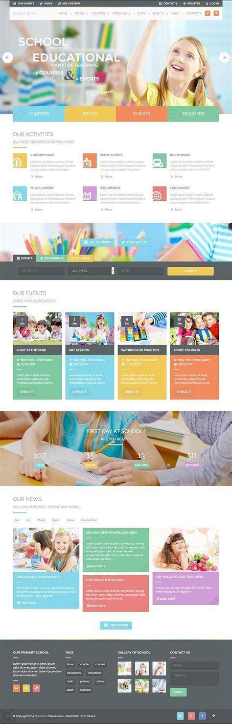 education theme words baby kids education learning wordpress theme wpexplorer