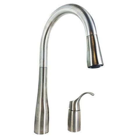 kohler simplice kitchen faucet kohler k 647 vs simplice pull kitchen faucet stainless